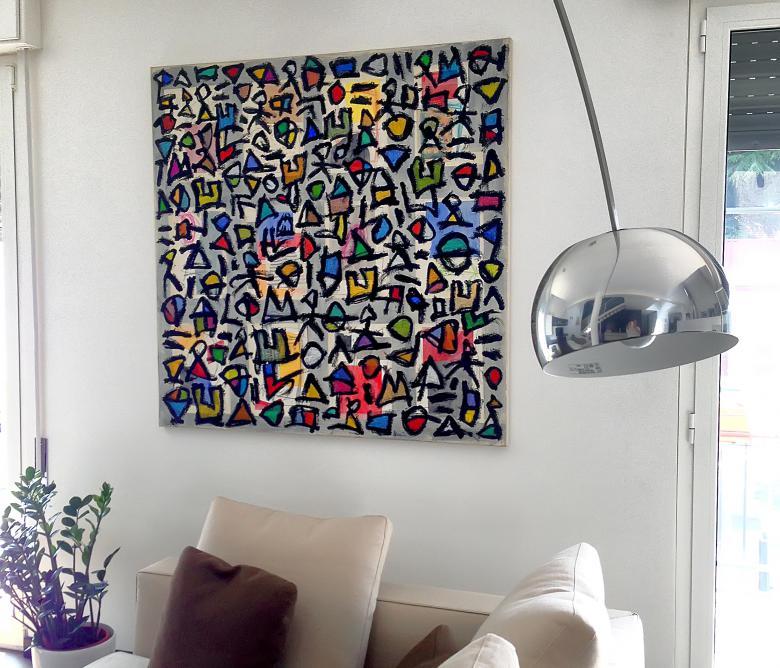 I quadri alle pareti